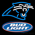 Budlight Carolina Panthers NFL Neon Sign