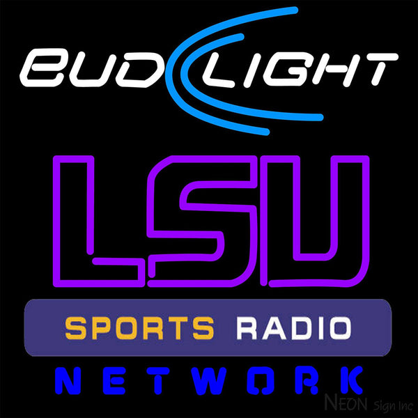 Budlight Lsu Sportbar Network Neon Sign 2