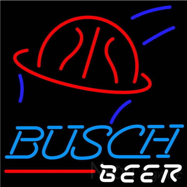 Busch Beer Basketball Neon Beer Sign 24x24
