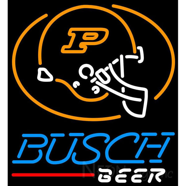 Busch Beer Purdue University Calumet Neon Sign 4 0004