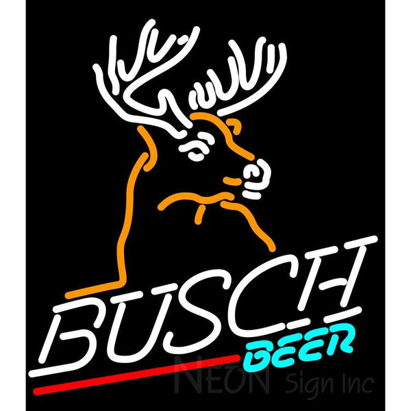 Busch Deer Neon Beer Sign