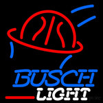 Busch Light Basketball Neon Beer Sign 16x16