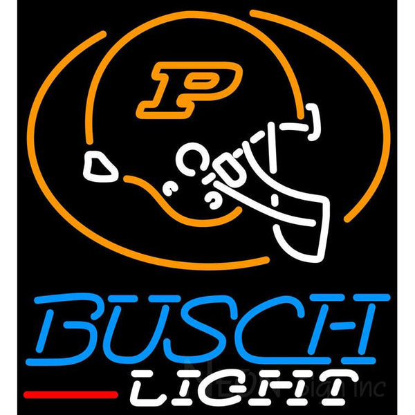 Busch Light Purdue University Calumet Neon Sign 4 0005