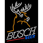 Busch Mountain Buck Neon Beer Sign