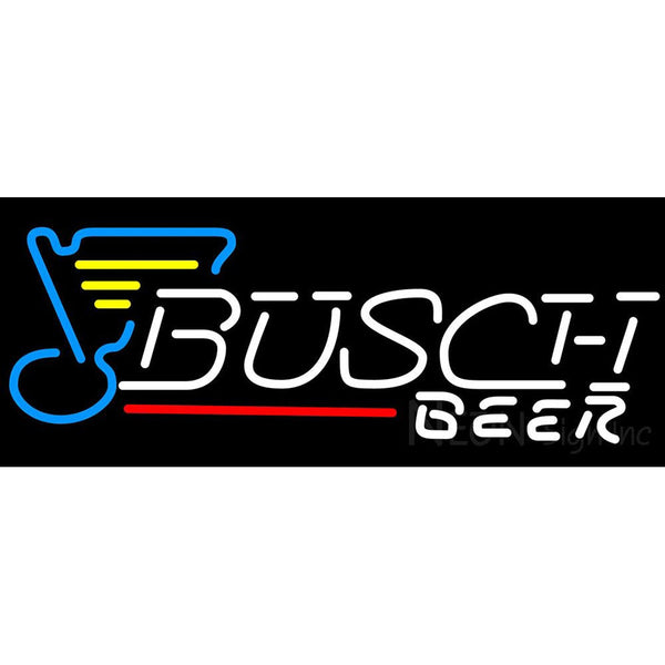 Busch St. Louis Blues Neon Beer Sign