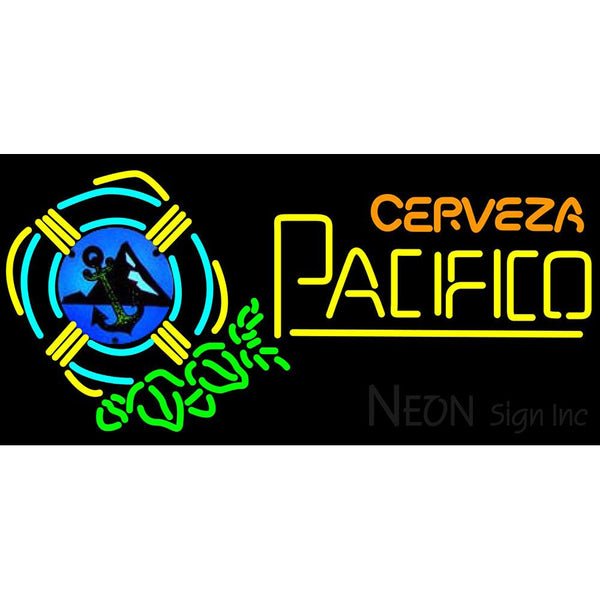 Cerveza Pacifico Life Neon Beer Sign