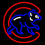 Chicago Cubs MLB Neon Sign 1 16x16