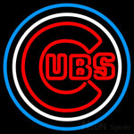 Chicago Cubs MLB Neon Sign
