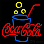 Coca Cola Neon Sign With Cock 16x16