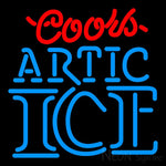 Coors Artic Ice Neon Beer Sign 16x16