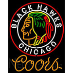 Coors Light Commemorative 1938 Chicago Blackhawks Neon Sign