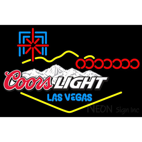 Coors Light Las Vegas Neon Sign 1