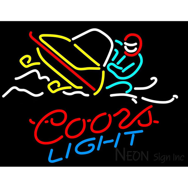Coors Light Snowmobile Neon Sign