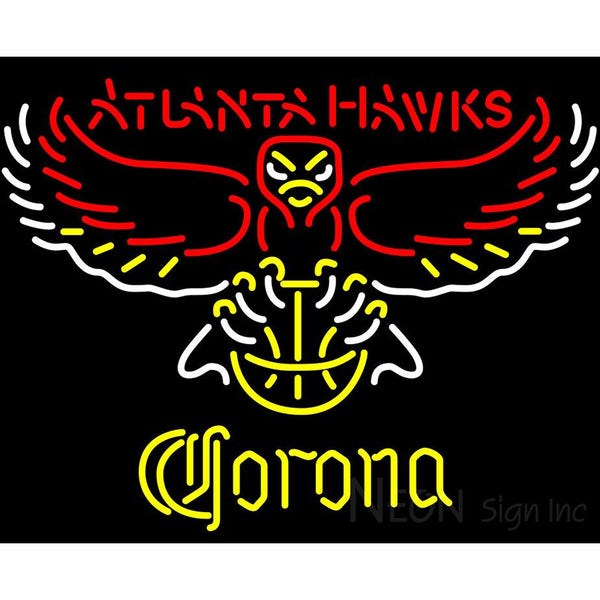Corona Atlanta Hawks NBA Neon Sign