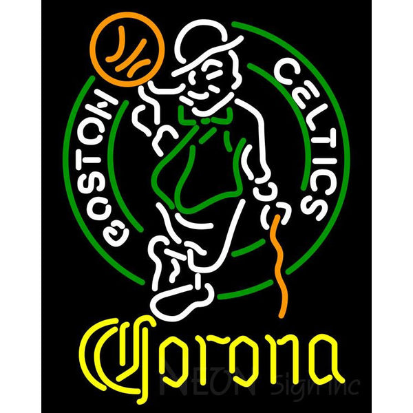 Corona Boston Celtics NBA Neon Sign