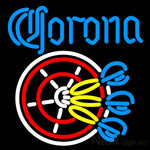Corona Darts Neon Beer Sign 16x16