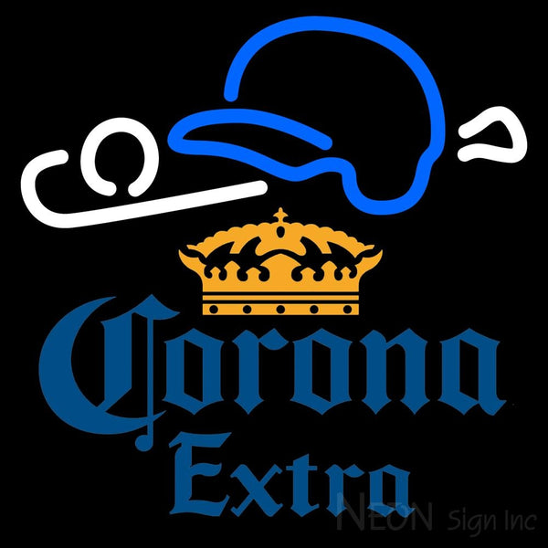 Corona Extra Baseball Neon Sign 1 16x16