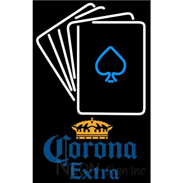 Corona Extra Cards Neon Sign 1