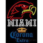 Corona Extra Miami UNIVERSITY Fall Session Neon Sign 4 0009