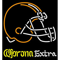 Corona Extra Neon Logo Cleveland Browns NFL Neon Sign 1 0008