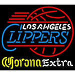 Corona Extra Neon Logo Los Angeles Clippers NBA Neon Sign 2 0005
