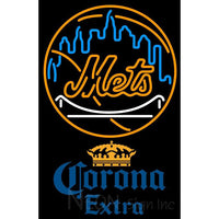 Corona Extra New York Mets MLB Neon Sign 1