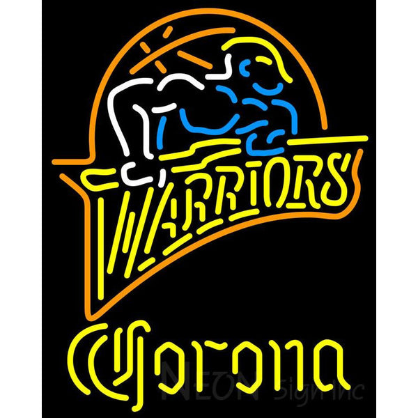 Corona Golden St Warriors NBA Neon Sign 2 0011