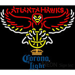 Corona Light Atlanta Hawks NBA Neon Sign 2 0006