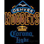 Corona Light Denver Nuggets NBA Neon Sign 2 0006