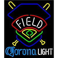 Corona Light Field Colorado Rockies Neon Sign