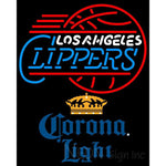 Corona Light Los Angeles Clippers NBA Neon Sign 2 0006