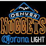 Corona Light Neon Logo Denver Nuggets NBA Neon Sign 2 0007