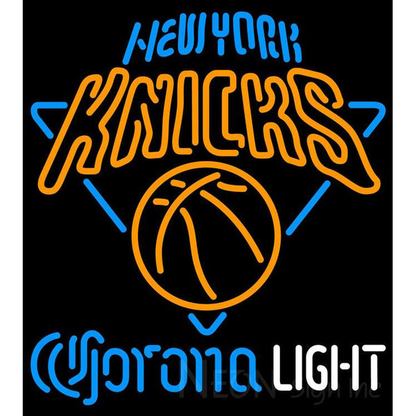 Corona Light Neon Logo New York Knicks NBA Neon Sign 2 0006