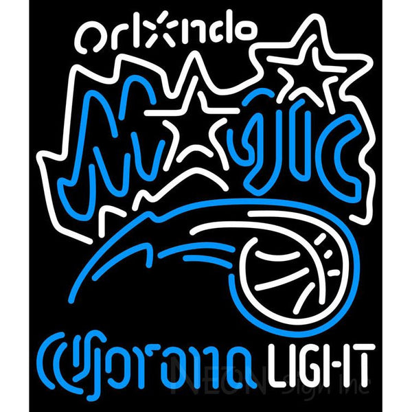 Corona Light Neon Logo Orlando Magic NBA Neon Sign 2 0006