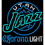 Corona Light Neon Logo Utah Jazz NBA Neon Sign 2 0006