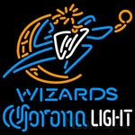 Corona Light Neon Logo Washington Wizards NBA Neon Sign 2 0006