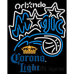 Corona Light Orlando Magic NBA Neon Sign 2 0007