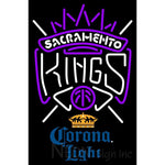 Corona Light Sacramento Kings NBA Neon Sign 2 0007