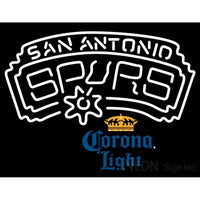 Corona Light San Antonio Spurs NBA Neon Sign 2 0007