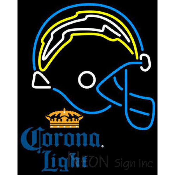 Corona Light San Diego Chargers NFL Neon Sign 3 0008