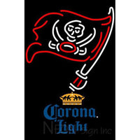 Corona Light Tampa Bay Buccaneers NFL Neon Sign 1 0010