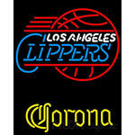 Corona Los Angeles Clippers NBA Neon Sign