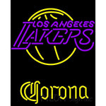 Corona Los Angeles Lakers NBA Neon Sign
