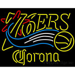 Corona Philadelphia 76ers NBA Neon Sign