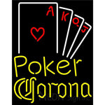 Corona Poker Ace Series Neon Sign