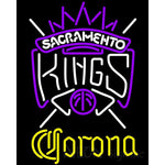 Corona Sacramento Kings NBA Neon Sign