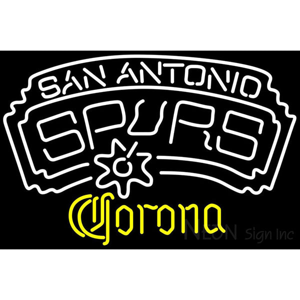 Corona San Antonio Spurs NBA Neon Sign