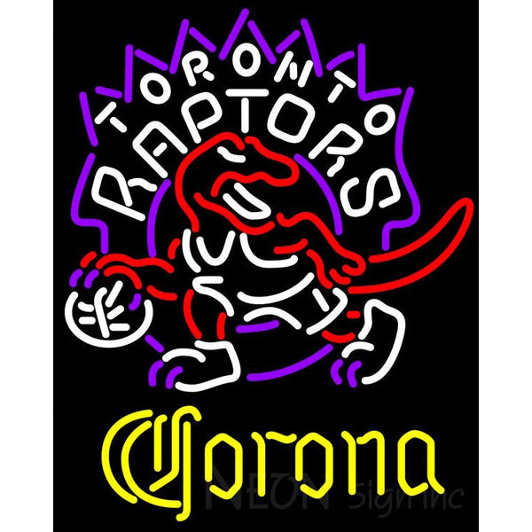 Corona Toronto Raptors NBA Neon Sign