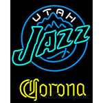 Corona Utah Jazz NBA Neon Sign