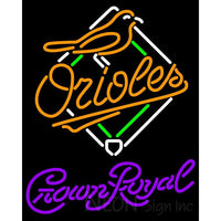 Crown Royal Baltimore Orioles MLB Neon Sign 3 0004